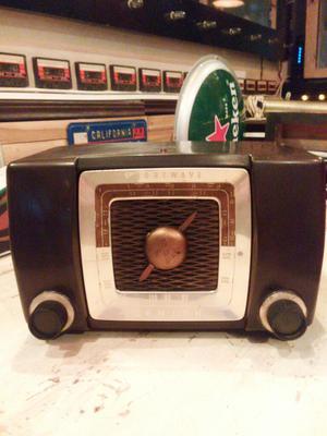 Vintage Radio Antiguio de Tubos Zenith