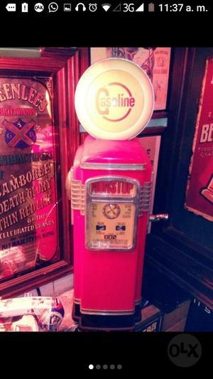 Vintage Radio Casette Gas Station