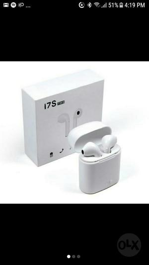 Auriculares Bluetooth Tipo Airpods.