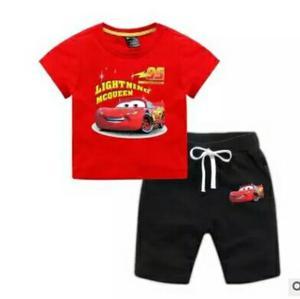 Conjunto Cars Ropa Bebe Infantil