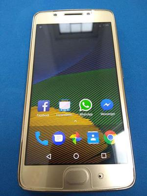 Motorola G5 con lector de huella