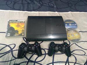 Vendo Ps3 Super Slim de 250 Gb