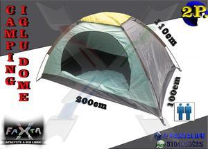 Carpa Camping Iglu Dome para 2 Personas Distribuye FAXTA