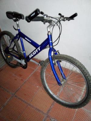 vendo bicicleta aluminio.