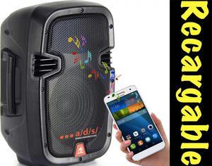 Cabina de Sonido Activa Bluetooth Portable recargable