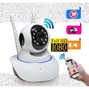 Camara de Seguridad IP Robotica CCTV WiFi FULLHD P Luces