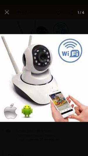 Cámara de Seguridad Ip Wifi Robótica