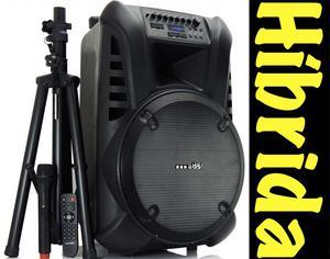 Impresionante cabina de sonido hibrida Bluetooth. activa