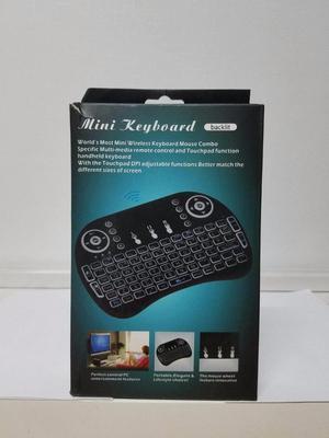 Mini Teclado Multimedia Inalámbrico para Smart Tv PC Laptop