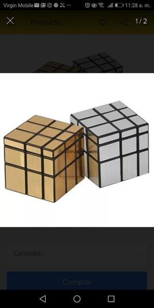 Cubo Rubik Mirror O Espejo Original