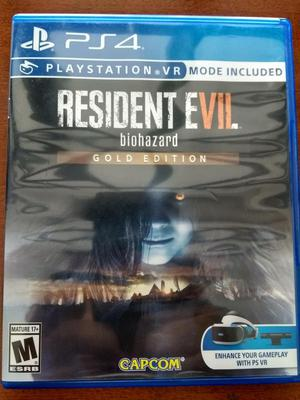 Juego Resident Evil 7 Gold Edition PS4 Original