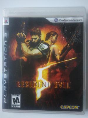 Resident Evil 5 Original para PS3 en perfecto estado