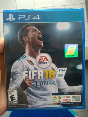 Vendo Fifa 18 para Ps4 en Perfecto Estad