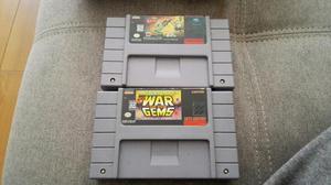 Promo 2 Juegos Super Nintendo