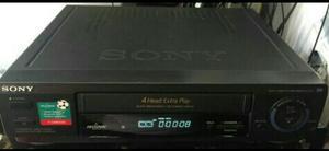 Reproductor Vhs Sony sin Control Bueno