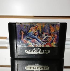 Streets Rage Cartucho Juego Para Consola Sega Genesis Retro