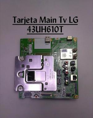 Tarjeta Main Tv Lg 43uh610t.