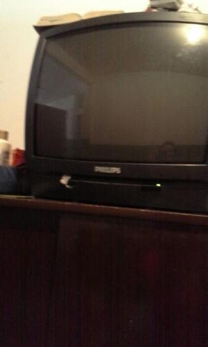 """Vendo Tv 21"""" Philips Antiguo"""