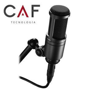 AudioTechnica AT Micrófono de Condensador