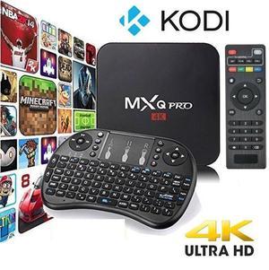 Combo tv box teclado convierte tu tv en smart tv