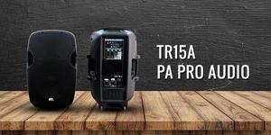 Pa Pro Audio TR15A Cabina de Sonido Activa PARLANTE