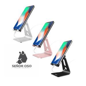 Soporte de Mesa en Aluminio para celular y Tablets