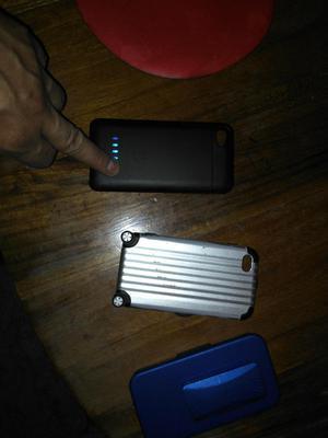 case powerbank iphone 4 y 4s obsequio estuches