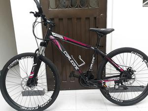 Ganga Bicicleta Corleone Rin 26 Aluminio