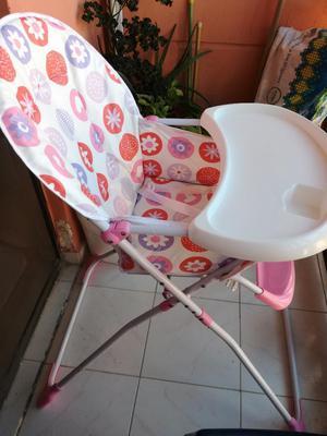 Asiento Comedor para Bebe niña
