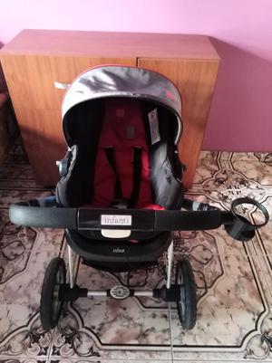 Coche para Bebé con Silla para Carro.