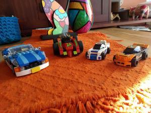 LEGO SET Automotriz 4 Autos