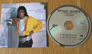 Michael Jackson Cd Single Liberian Girl