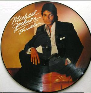 Michael Jackson Lp Picture Thriller