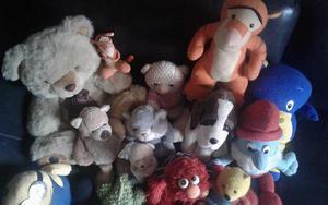 Vendo lote de muñecos peluches excelente estado $