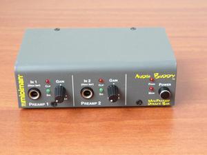 preamplificador para micrófonos de condensador MIDIMAN