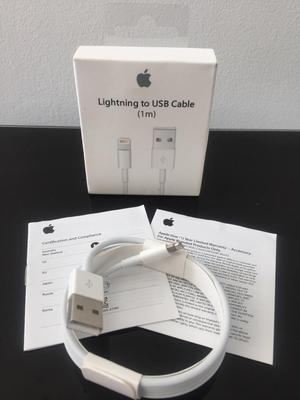 Cable Cargador Usb iPhone Original 1/2Mt