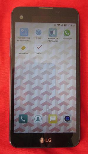 LG X SCREEN 4G LTE 16GB 2GB MUY BONITO LIBRE ACCESORIOS