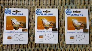 Memoria Samsung 32GB Y 64 GB Clase 10 Original