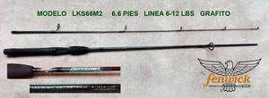 Vara o caña de pesca deportiva marca Fenwick USA