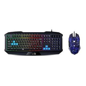 Combo Teclado Y Mouse Gamer Usb Gx Scorpion K215 Mgjr034