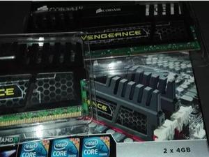Memoria RAM DDR3 Corsair Blindadas, de alto rendimiento