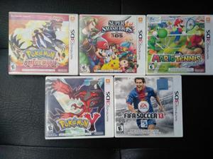 Juegos para Nintendo 3ds desde 30 Mil