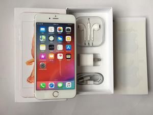 iPhone 6S Plus 64Gb Rosado Caja Accesorios 100 Funcional