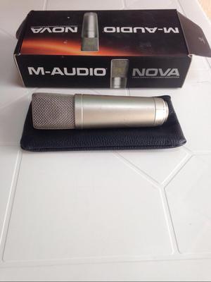 Microfono Condensado M Audio Nova