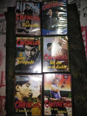 Películas Originales de Cantiflas 6 Unid