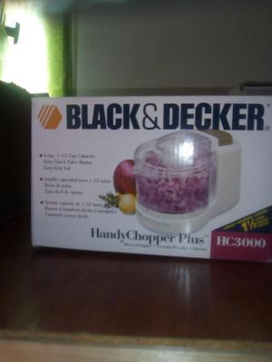 Picatodo blanco marca black deker 1. 1/2 tasas