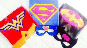 Capas de Superheroes para Niños Y Niñas