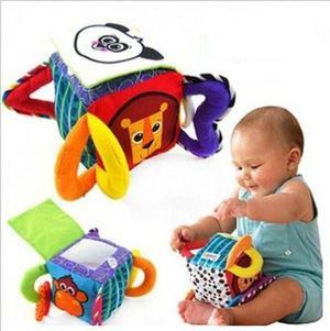 Cubo Suave De Estimulación Temprana Bebé Juguete Lamaze