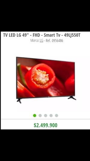 TV LED LG 49 full hd Smart Tv, NuevoS Con garantia, Obsequio