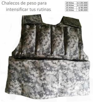 Chaleco De Peso, Para Intensificar Tus Rutinas, hasta 20 k